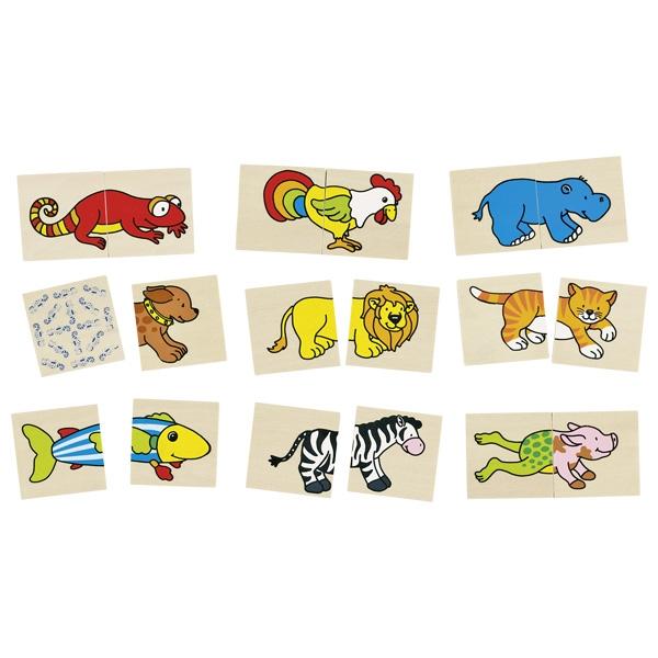 jeux de puzzle des animaux