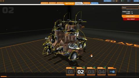 jeux de robot de combat a construire