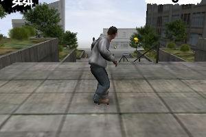 jeux de skate dans la rue