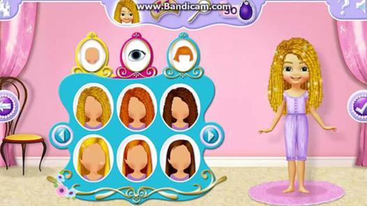 jeux de sofia princesse