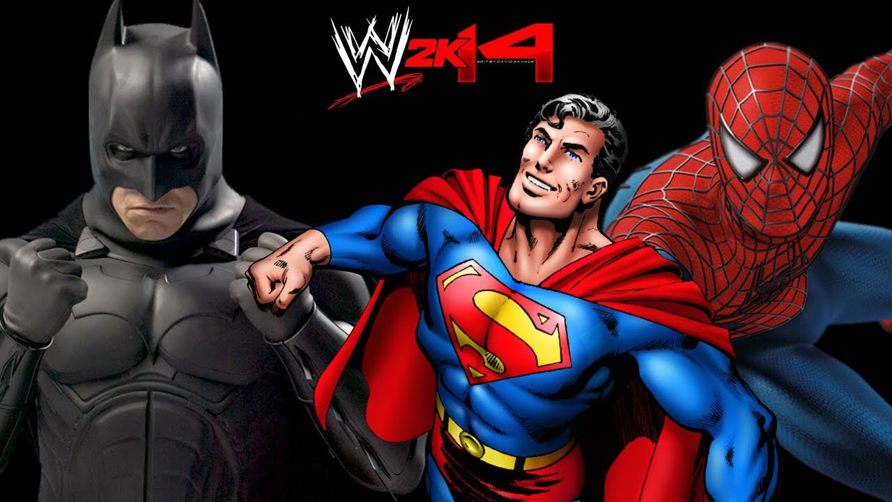 jeux de spiderman et batman et superman