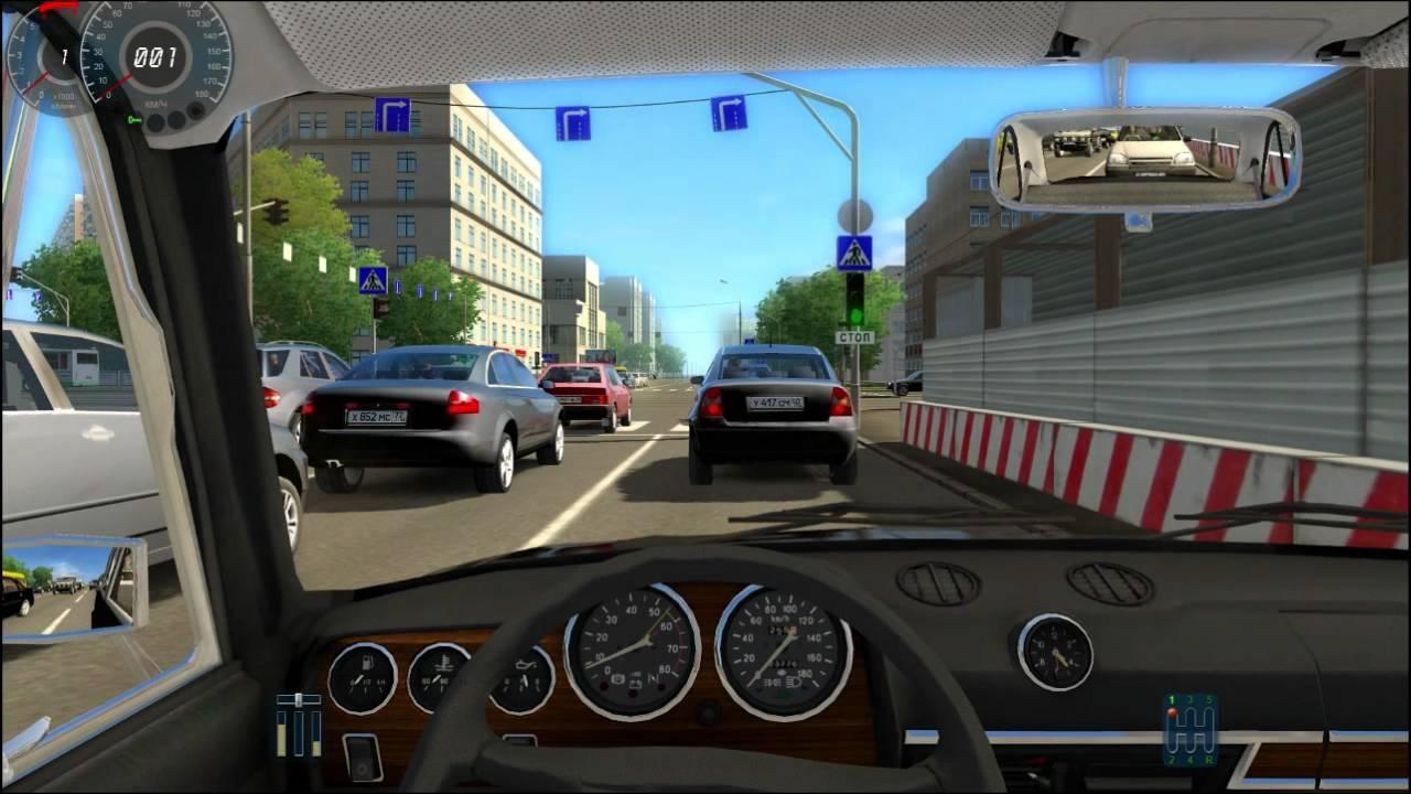 jeux de voiture city