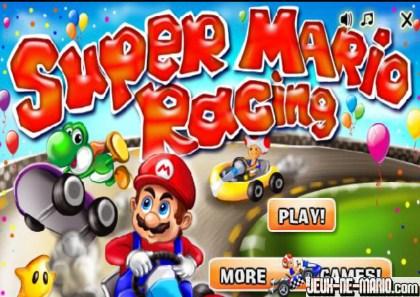 jeux de voiture de course de mario
