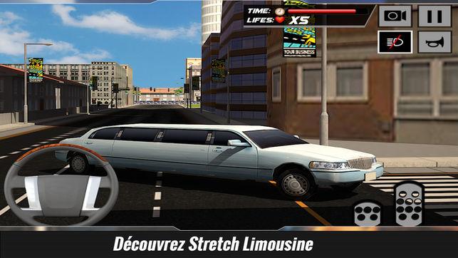 jeux de voiture limousine