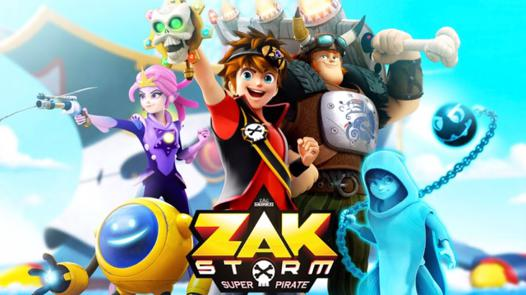 jeux de zak storm super pirate