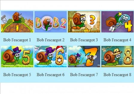 jeux educatif bob l escargot