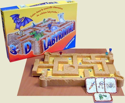 jeux labyrinthe 3d