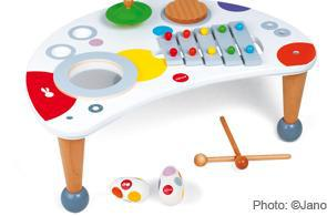 jeux musical bebe