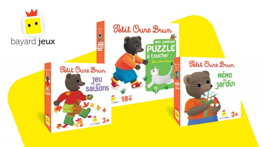 jeux petit ours brun