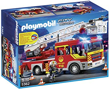 jeux playmobil pompier