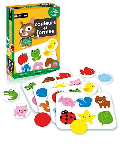 jeux pour apprendre les formes et couleurs