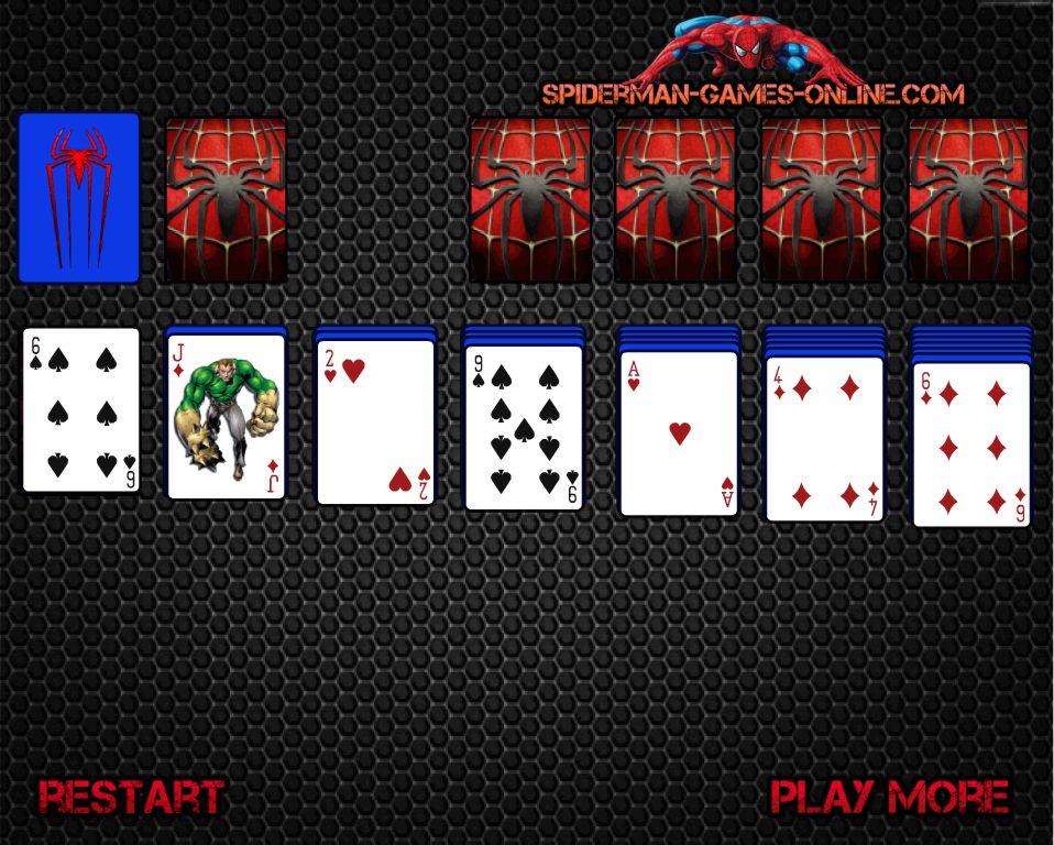 jeux spiderman solitaire