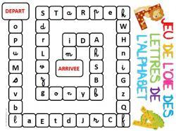 jeux sur l alphabet en maternelle