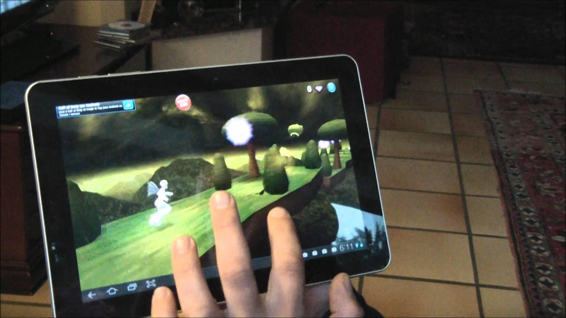 jeux tablette samsung