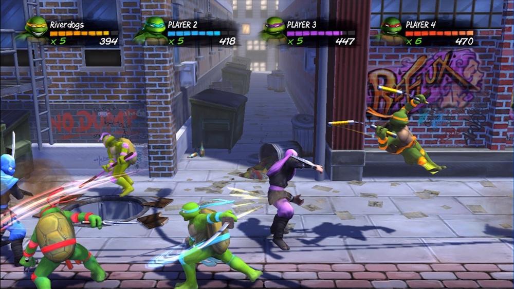 jeux video tortue ninja