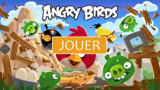jouer à angry birds
