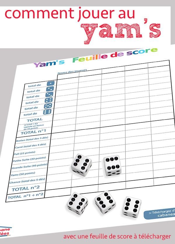 jouer aux yams