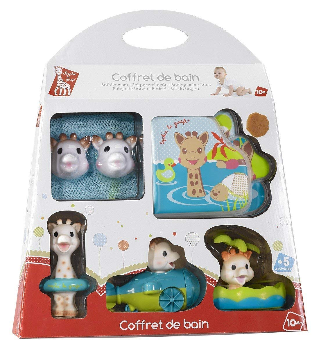 jouet bain sophie la girafe