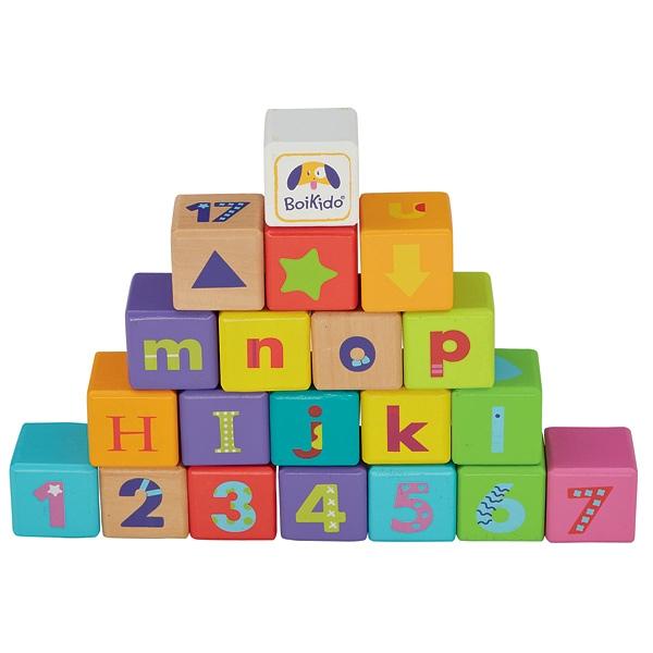 jouet cube en bois