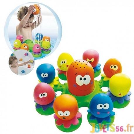 jouet de bain poulpy