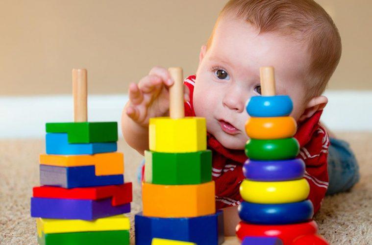 jouet en bois bébé 6 mois