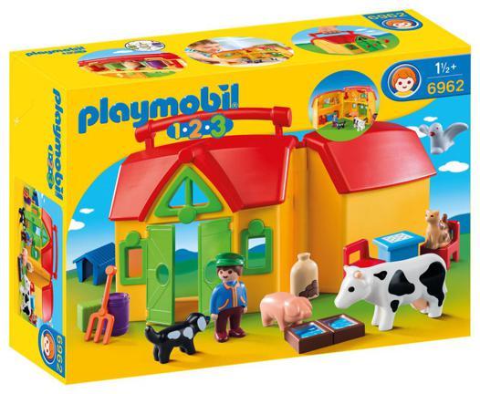 jouet ferme avec animaux