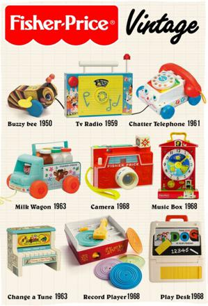 jouet fisher price vintage