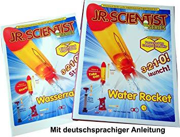 jouet fusée à eau