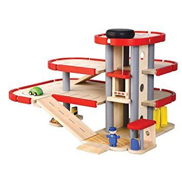 jouet garage en bois