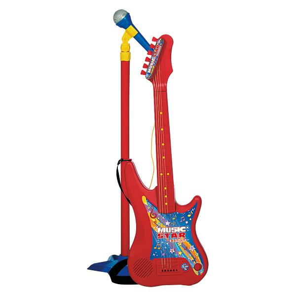 jouet guitare et micro