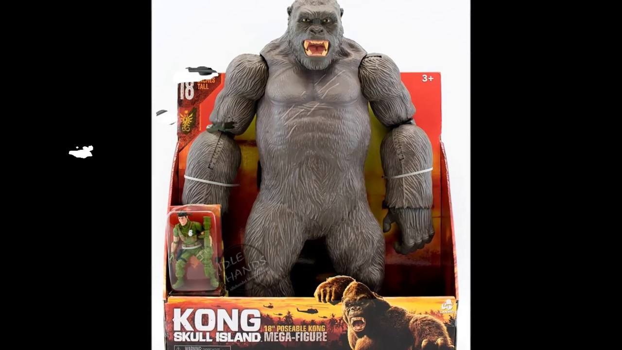 jouet king kong skull island