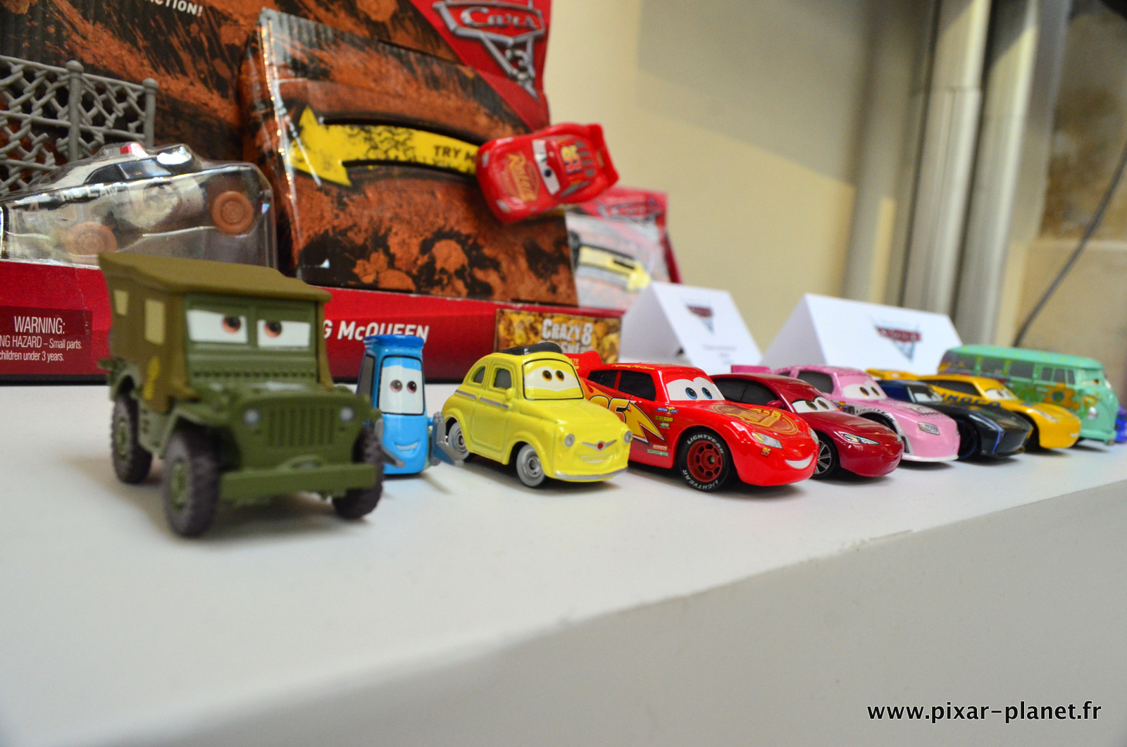 jouet mattel cars