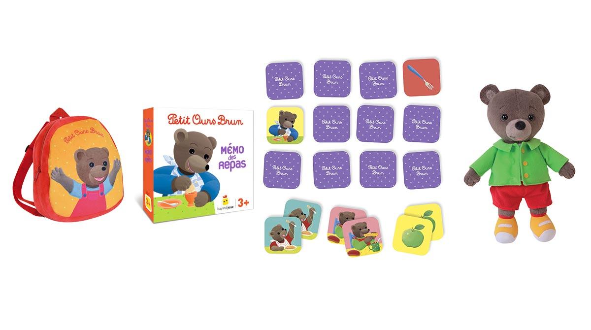 jouet petit ours brun