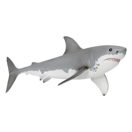 jouet requin blanc