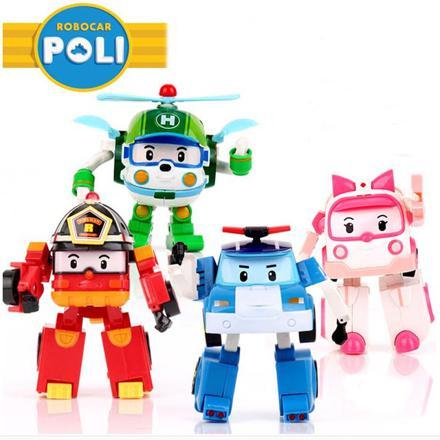 jouet robot car poli