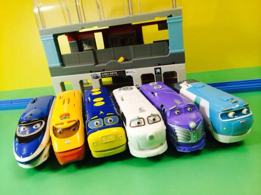 jouet train chuggington