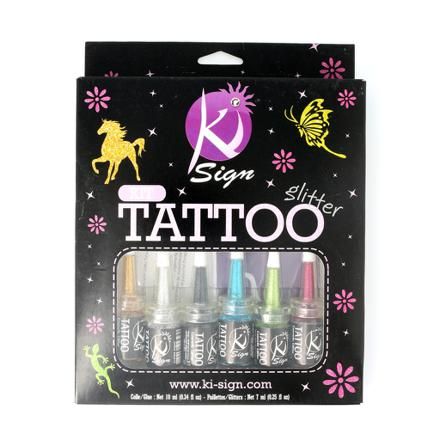 kit tatoo paillette