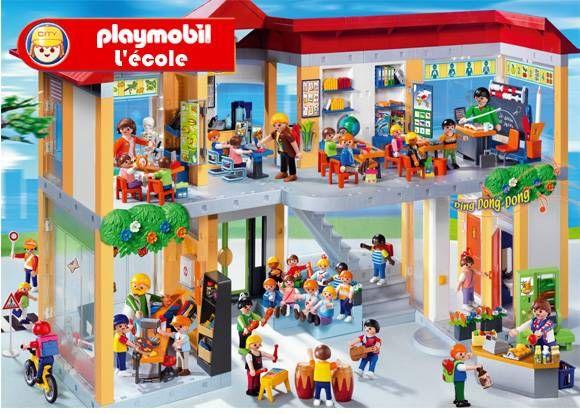 l école playmobil