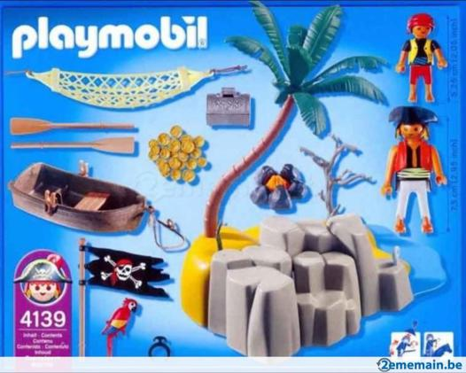 l ile aux pirates playmobil