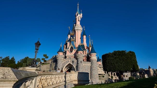 la belle au bois dormant chateau