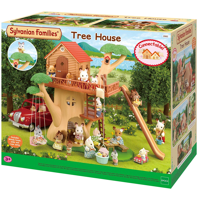 la cabane dans les arbres sylvanian