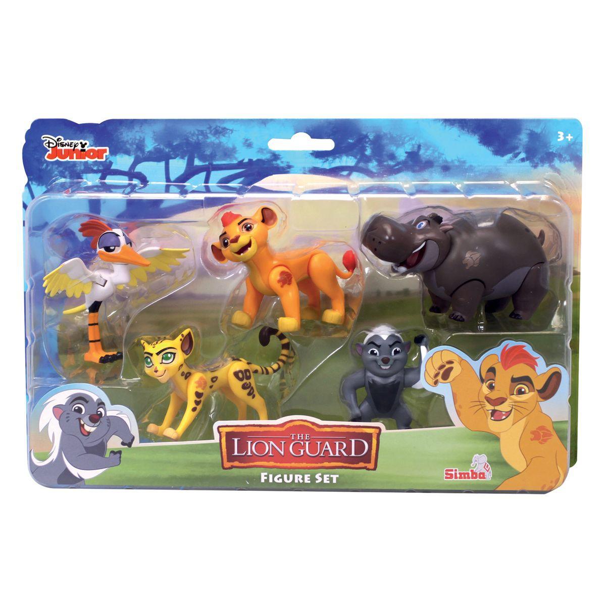 la garde du roi lion figurines