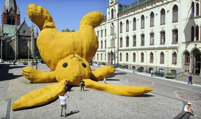 la plus grosse peluche du monde