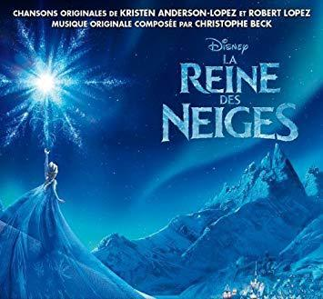 la reine des neiges cd