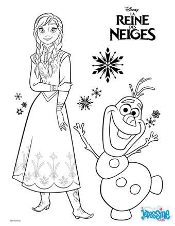 la reine des neiges dessin