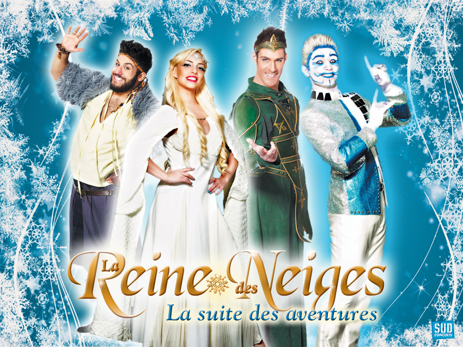la reine des neiges site officiel
