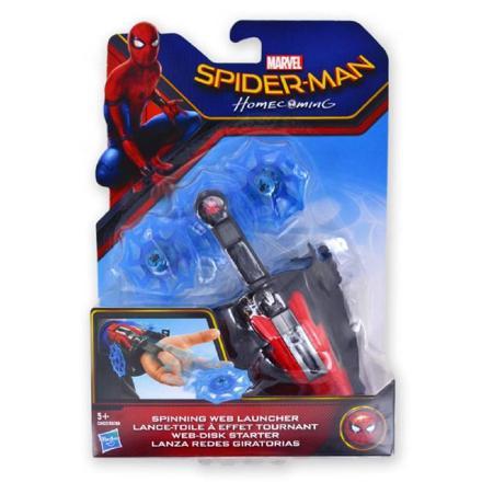 lance toile spiderman