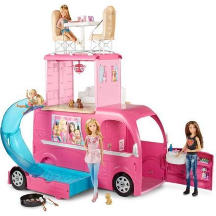 le camping car de barbie