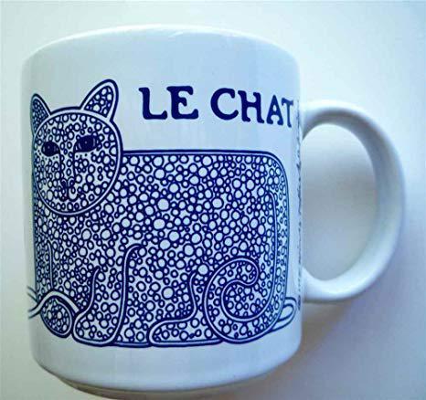 le chat mug