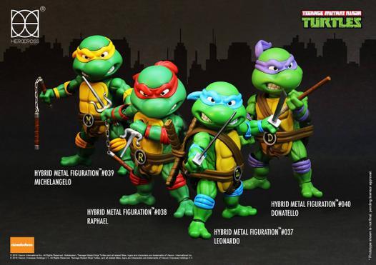 le nom des tortues ninja